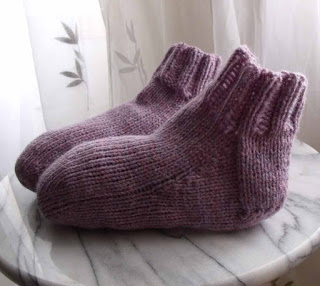 Knitted Socks Pattern
