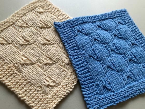 Super Cute Hand Knit Bows Dishcloths – FREE Shipping!
