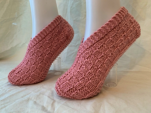 CUSTOM MADE Hand Knit Slippers – FREE Shipping!