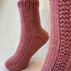 Hand Knit Socks & Mitts