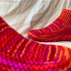 FREE Knitted Slippers Pattern