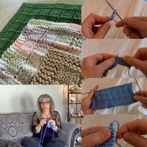 Learn how to Knit a Dishcloth