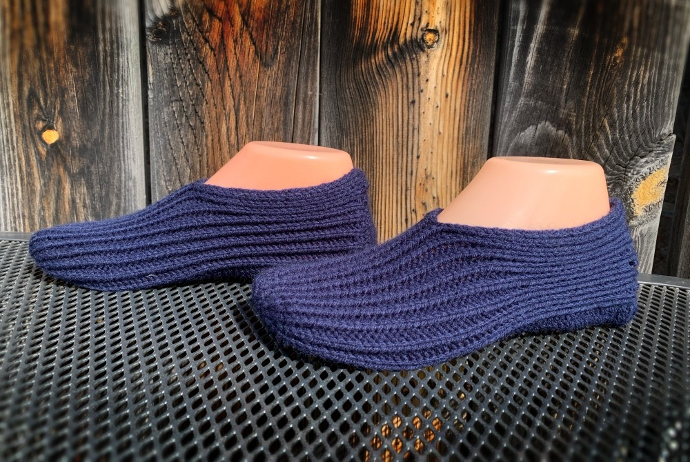 Knit slippers for sale