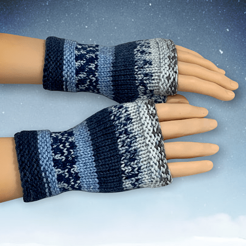 Simple to Knit Fingerless Gloves