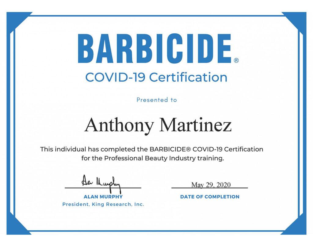 Anthony-Barbicide