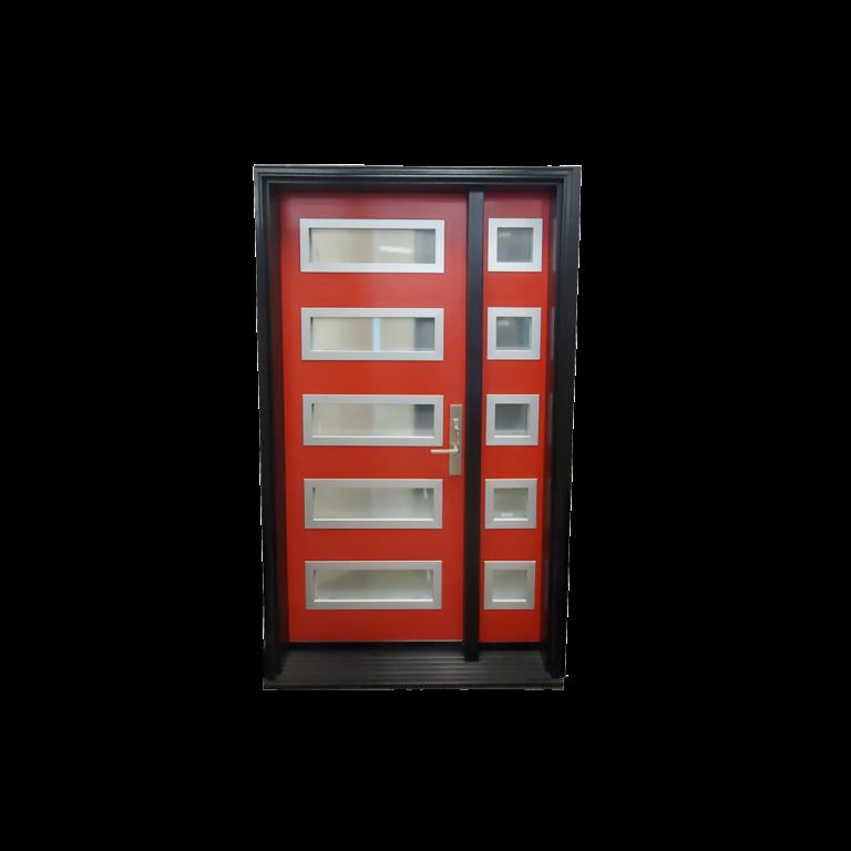 Steel-Door-Red