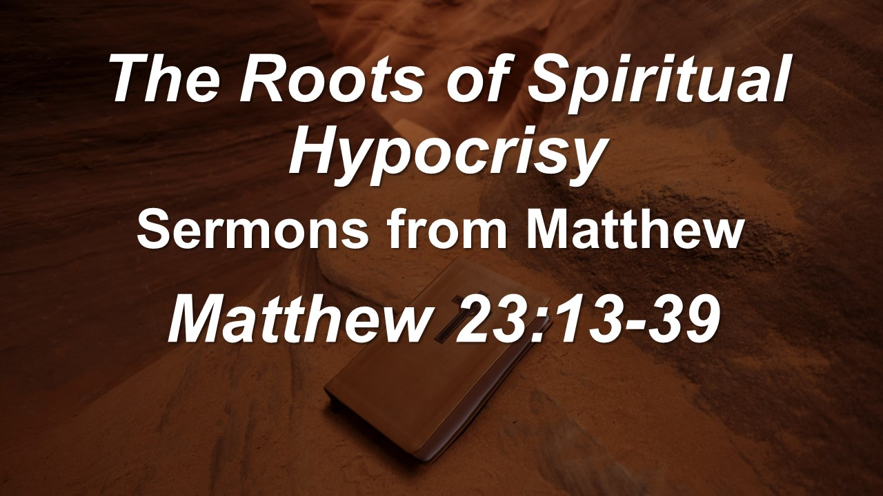 The Root of Spiritual Hypocrisy