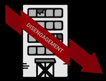 disengagement - building falling apart