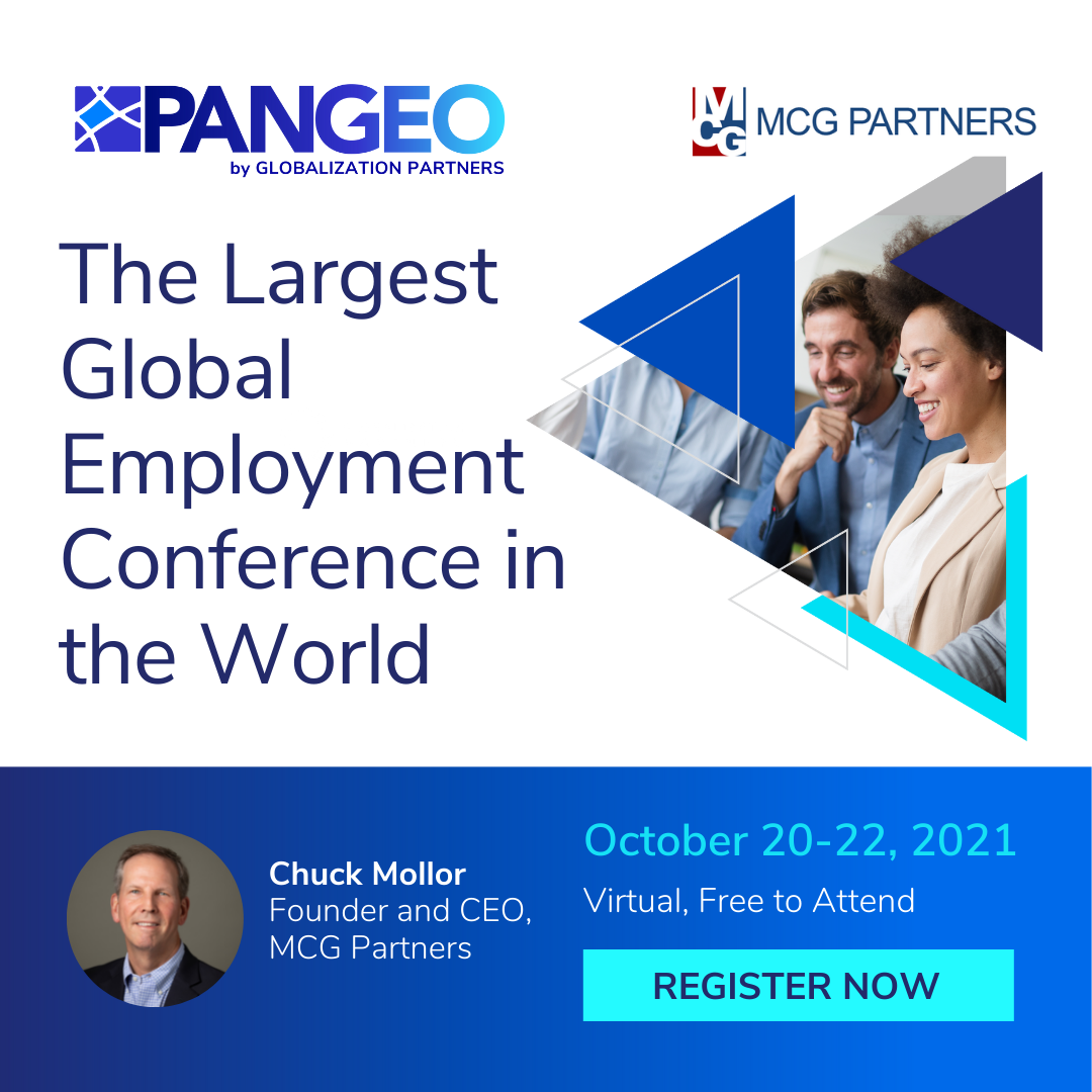 Pangeo Globalization Partners The Largest Global Employment Conference in the World