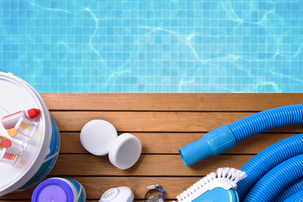 Pool and Pool Cleaning Tools