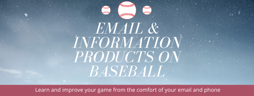 Email and Information products for Baseball