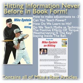 hittng information by mike epstein form baseball excellence