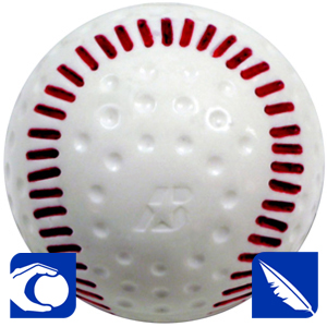 baden patented baseball for pitching machine