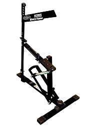 black flame pitching machine from baseball excellence