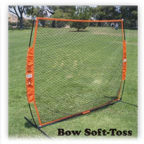 bownet soft toss net from baseball excellence
