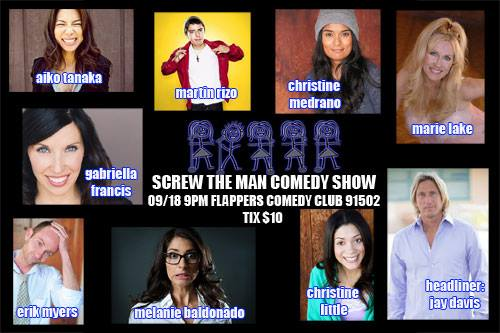Screw The Man Flappers Comedy In Burbank