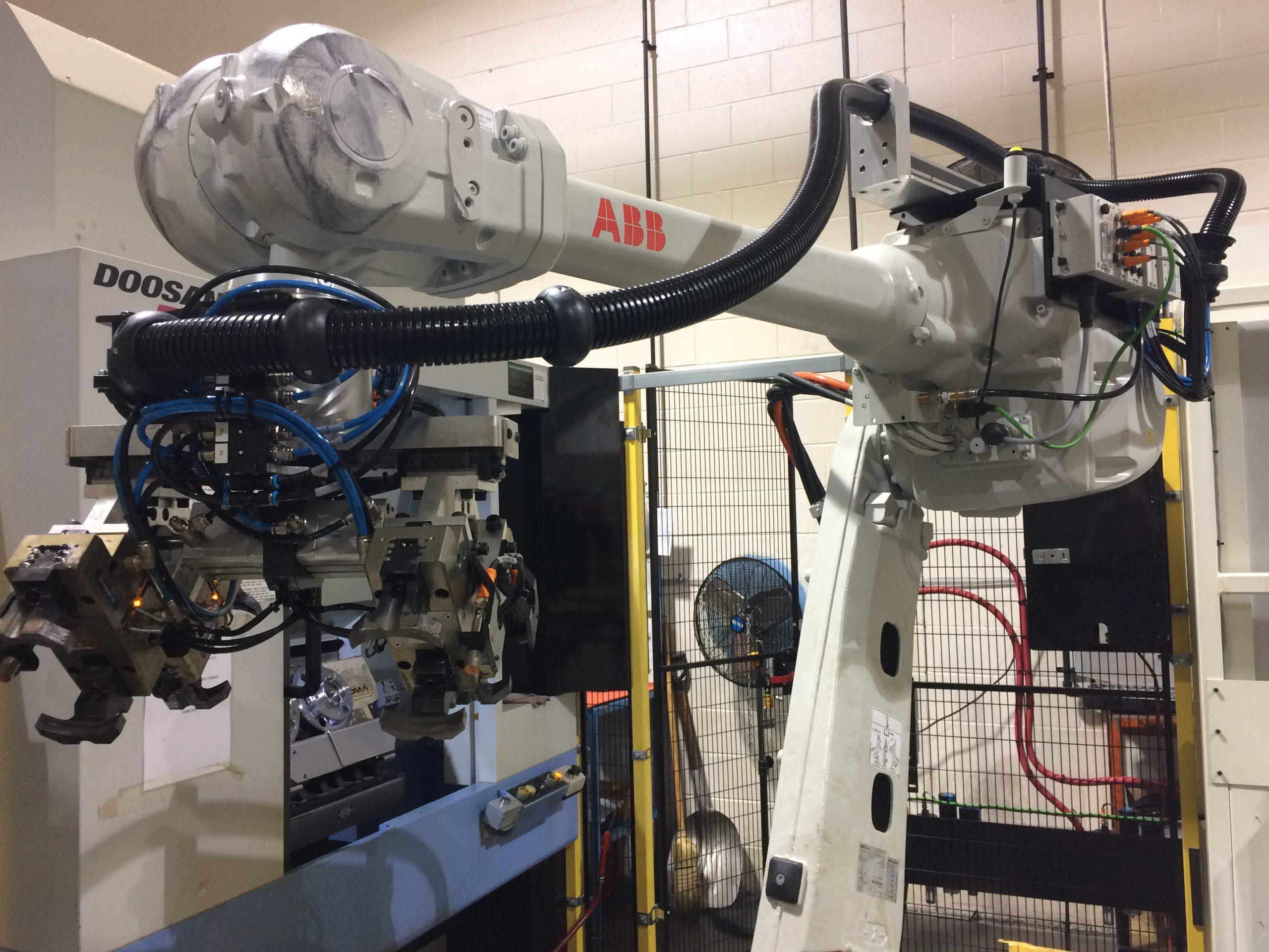 Robotic Machine Tending Cells