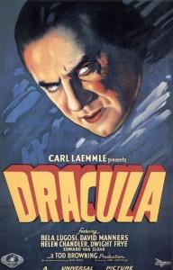 Original Dracula Movie Poster
