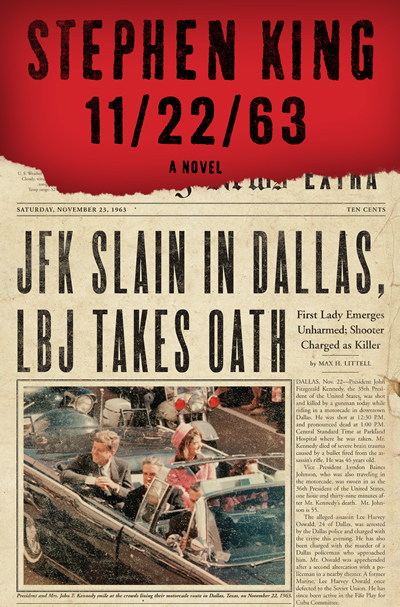 11-22-63 by stephen king book cover