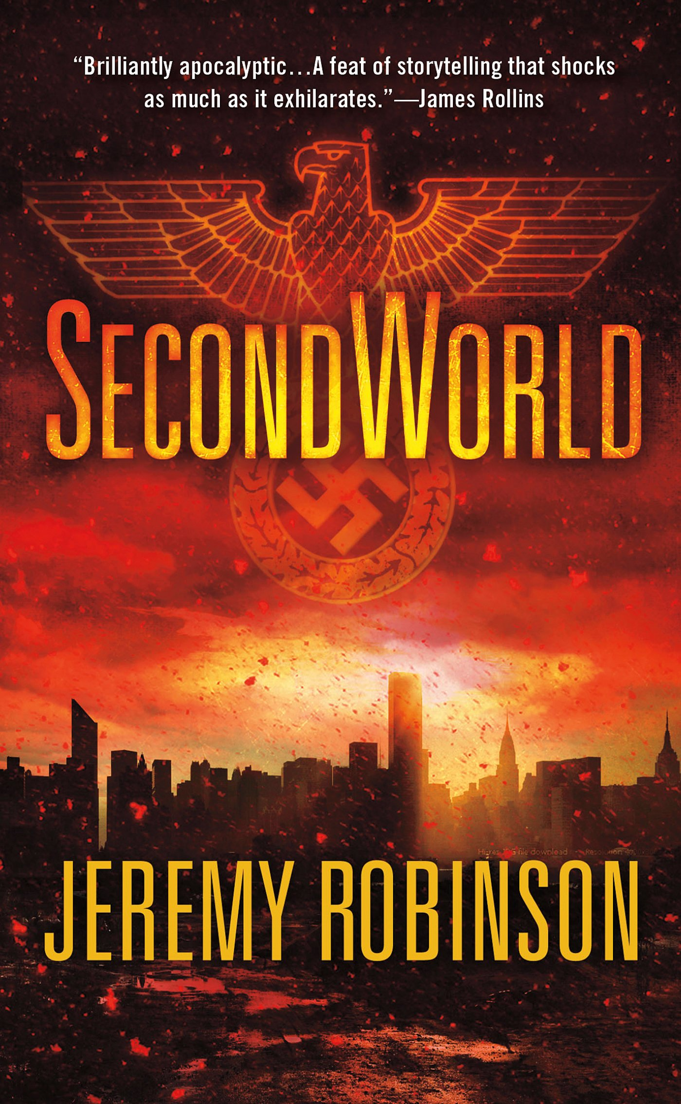 Jeremy Robinson SecondWorld