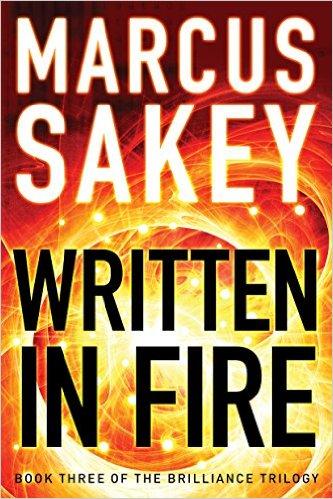 Written in Fire by Markus Sakey