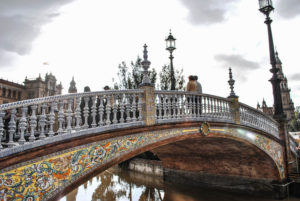 Picture of bridge in Seville Spain