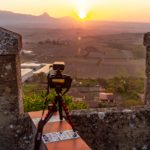 Sunset photography in Laguardia, Spain