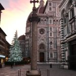 The Duomo in Florence during Christmas
