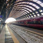 Italo high-speed train in Milan, Italy
