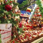 Christmas stall in Munich, Germany.