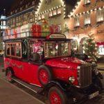 Christmas car in Rothenburg ob der Tauber
