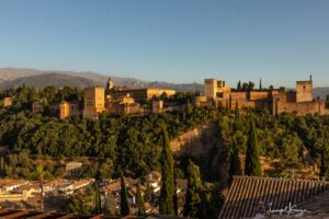 La Alhambra in Granada Spain