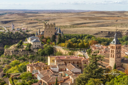 The castle of Segovia
