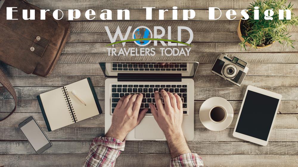 WTT European Trip Design Logo