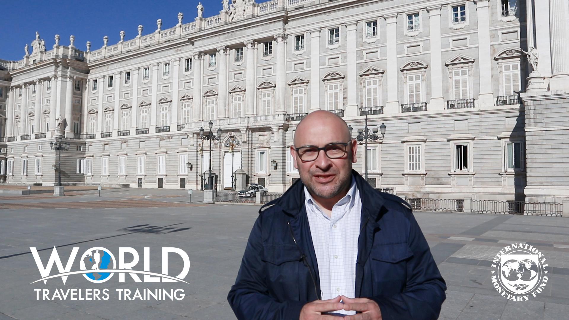 Sam Garza Training in Madrid Travel security