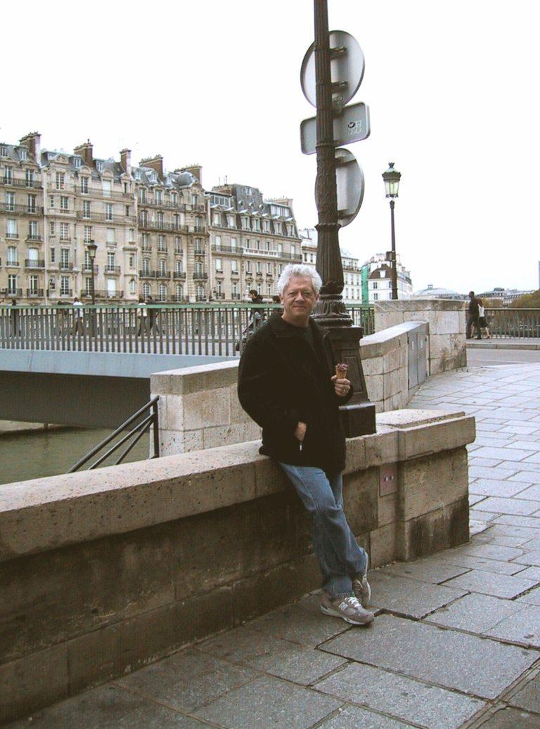 Jerome Gilmer in Paris