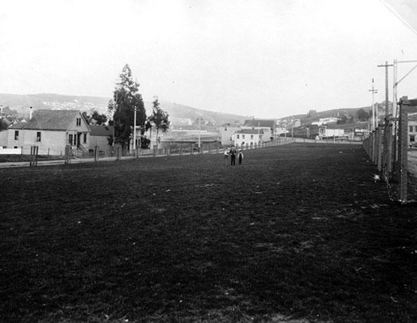 Precita Park from Bernal Archives