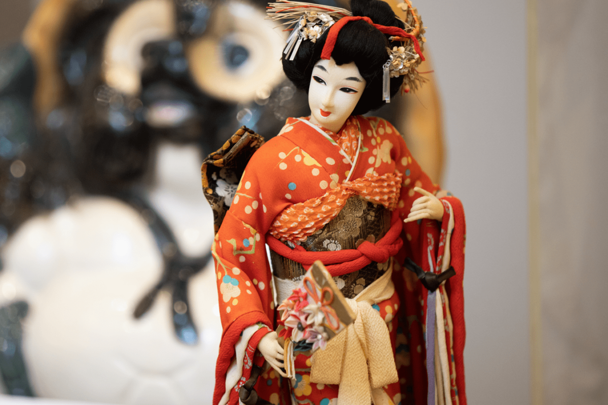 Traditional Doll from Silent Auction