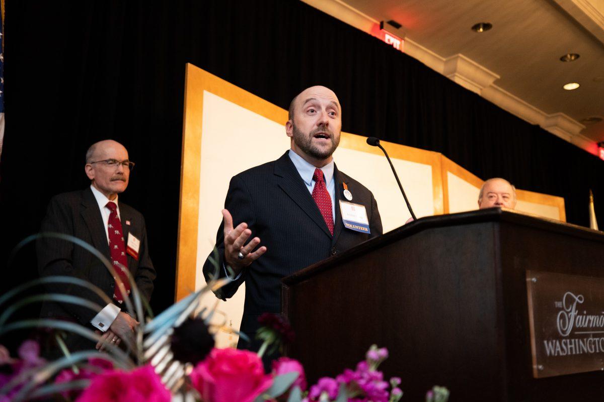 Joshua Beatty, Individual John & Hiroko Malott Leadership Award Recipient