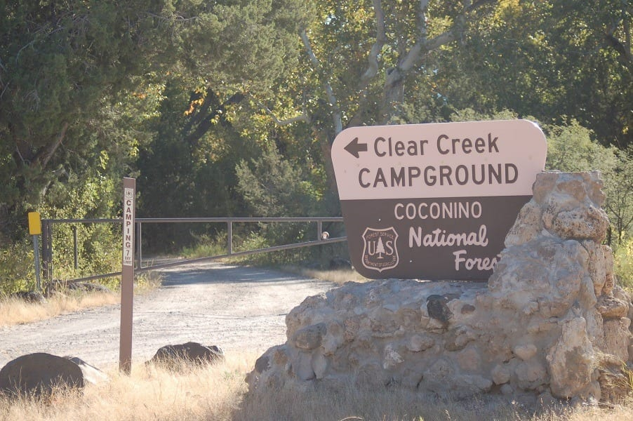 Clear Creek USFS Campground