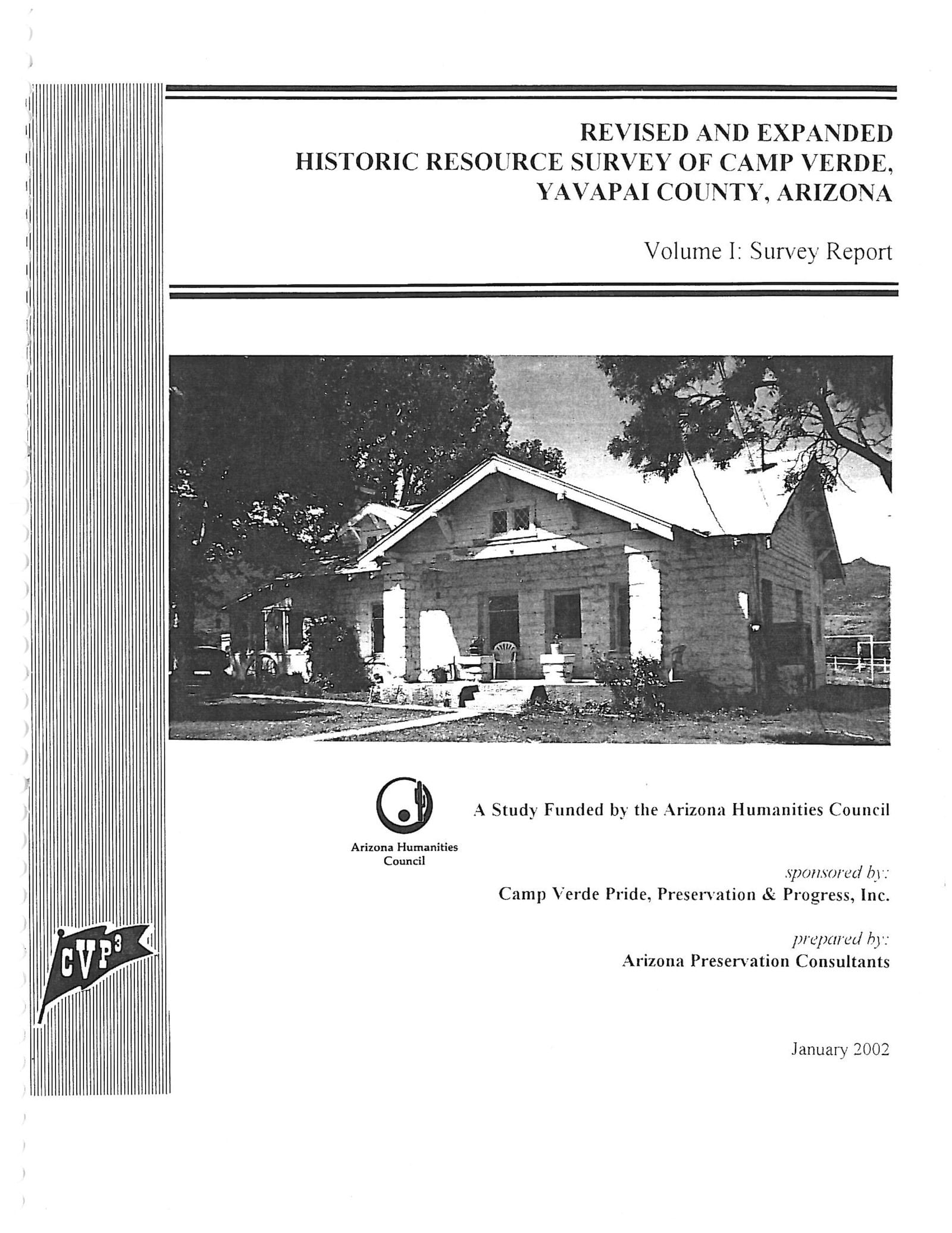 Historic Resource Survey of Camp Verde