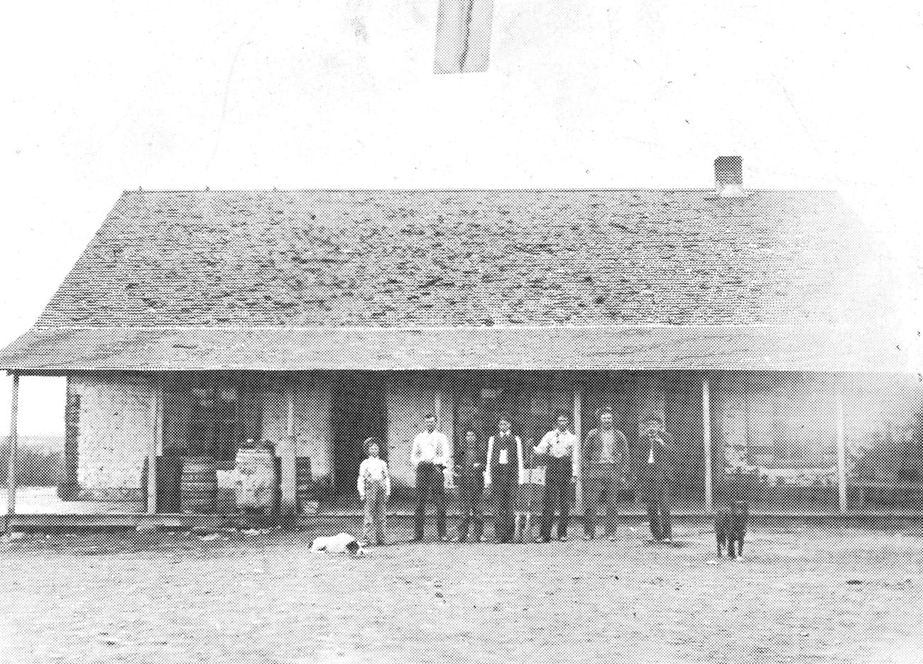 Tour Stop 6: Sutler's Store/Wingfield Building/CV State Bank, c. 1871-1916