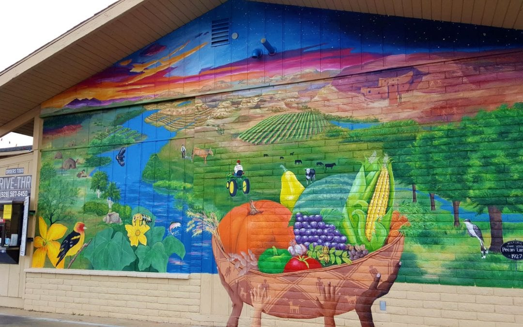 Camp Verde Grows a Mural