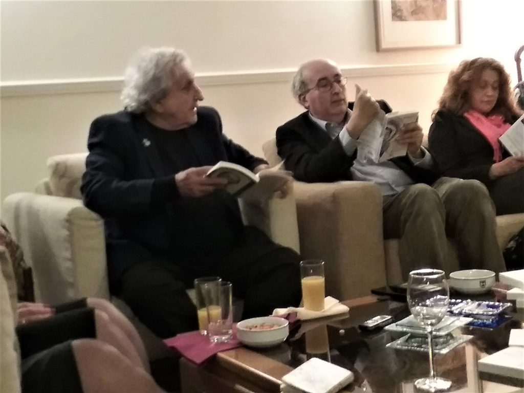 Photo of Novelist Abram Yehoshua