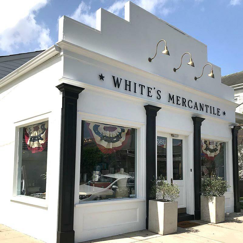 whites mercantile new orleans, la location
