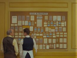 Still of Wes Anderson's The French Dispatch