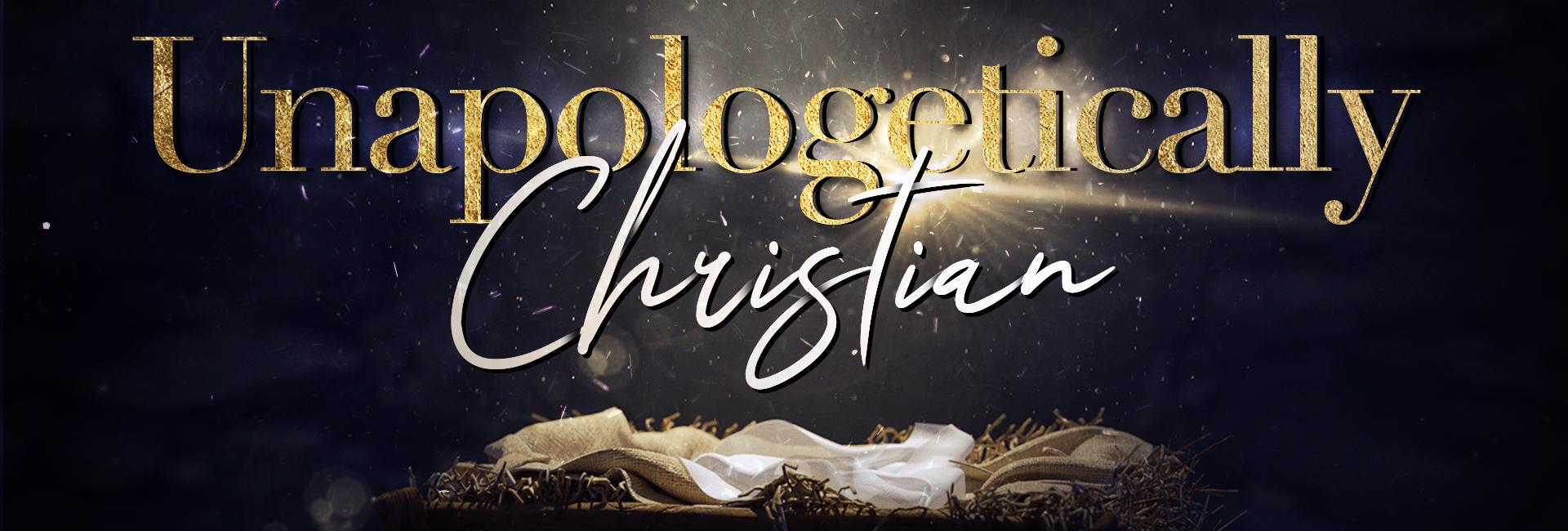 Unapologetically Christian Web copy