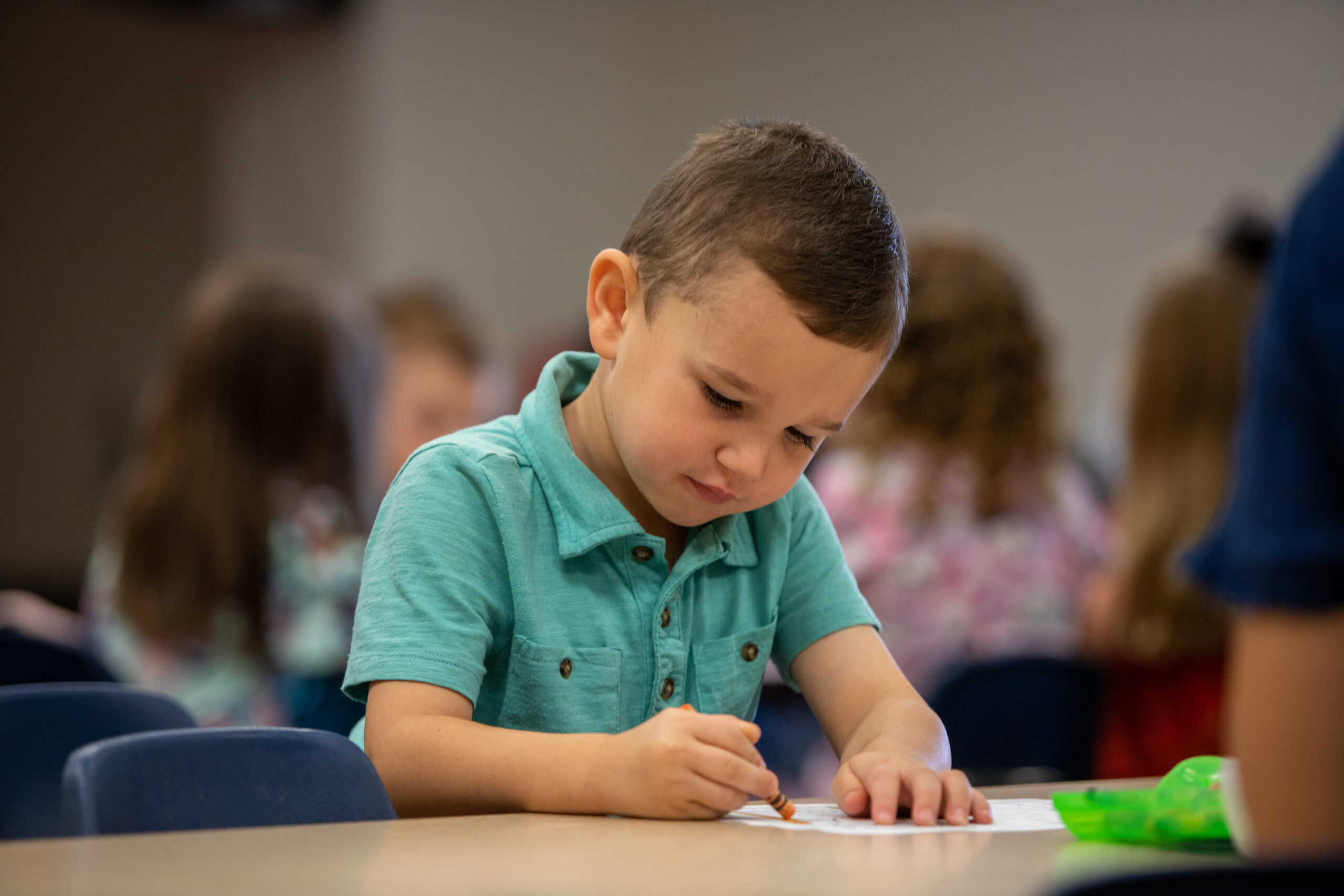 In our Kindergarten class, children will learn how to apply the message that they've heard and how they can share God's truth with others.