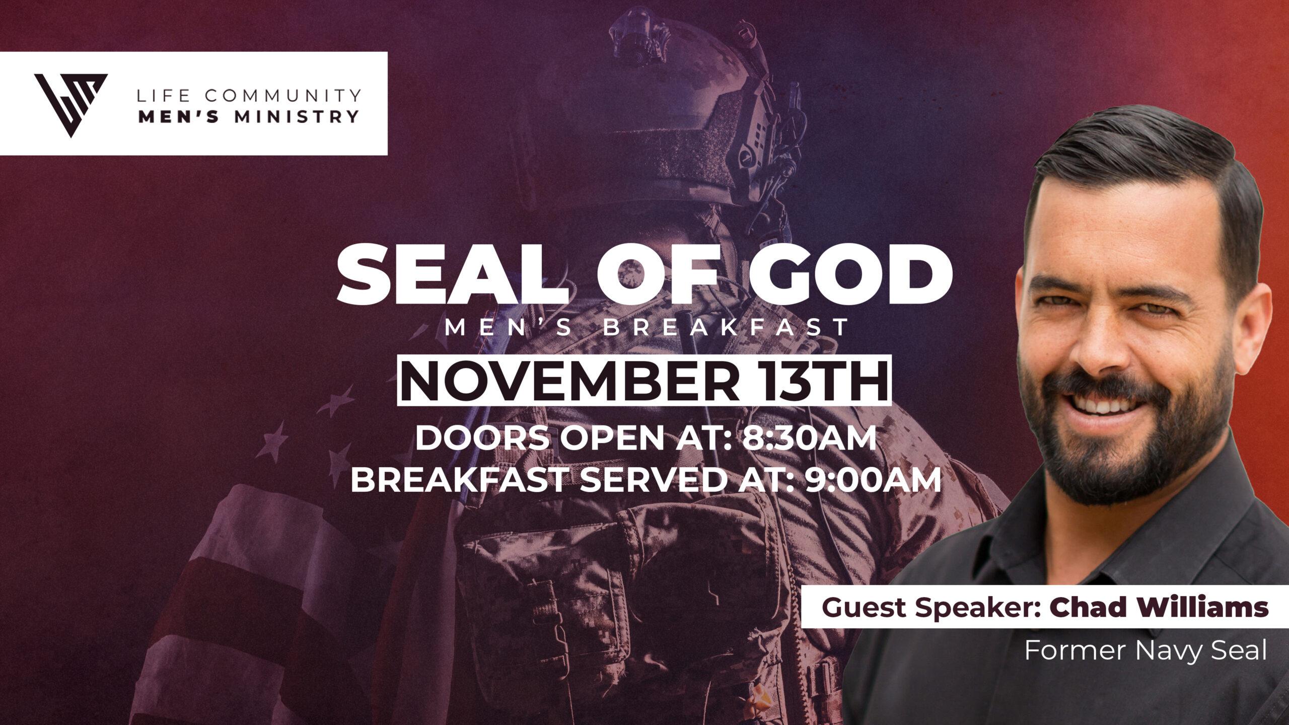 Mens Seal Event