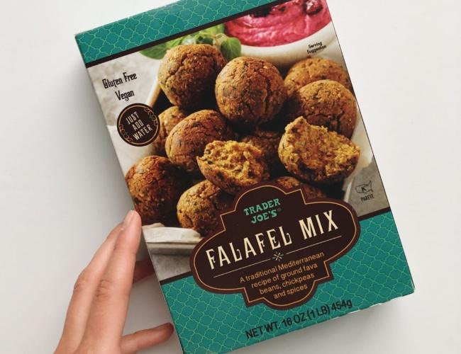 trader joes falafel